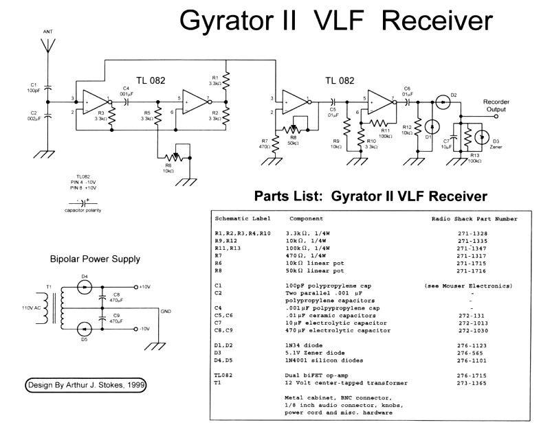 Gyrator II VLF Receiver | Society of Amateur Radio Astronomers