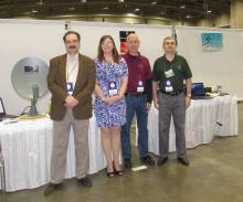 From left: Stephen Tzikas,  Lee Alvis, Ken Redcap, Chip Sufitchi