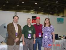 From left: Stephen Tzikas, Chip Sufitchi, Ken Redcap, Lee Alvis