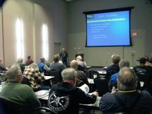 Dayton Jones telling us about future telescope developments
