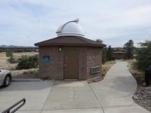 Optical observatory adjacent to radio observatory
